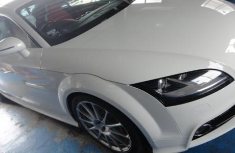 AUDI アウディ TT 2,0T QUATTRO ザックス SACHS RS-1取り付け、AUDI アウディ TT ビルシュタイン BSS-KIT取り付け