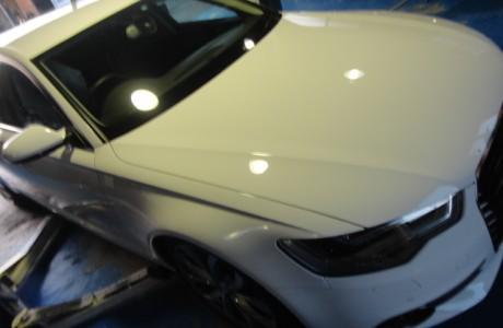 アウディ A6 C7 S-LINE エアロ取り付け、アウディ R8 V10 ドライカーボン リアディフューザー、VW GOLF5 ヴァリアント VWRエアクリーナー取り付け