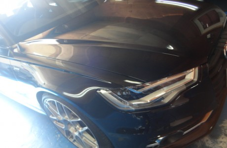 AUDI A6 C7 4G RS6純正フロントグリル取り付け、AUDI TT TTRS リアバンパー取り付け&DSGオイル交換、