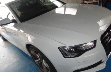 AUDI New A5 SBC TVキャンセラー&クルーズコントロール、VW GOLF6 GTI AKRAPOVIC取り付け、VW GOLF6 コンフォートライン KW Ver1取り付け