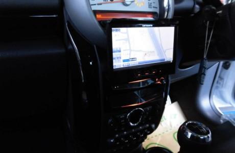 MINI ミニ R60 クロスオーバー 2DIN ナビ AVIC-VH0099取り付け