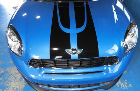 R60 MINI クロスオーバー ボディコーティング&ブレーキパッド交換