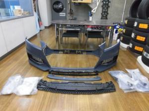 2,5 AUDI 8S NEW TTS フロントバンパー (1)