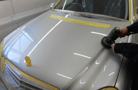 メルセデスベンツ W211 Eクラス ボディコーティング施工!