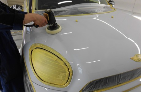 MINI ミニ R60 クロスオーバー ボディコーティング施工