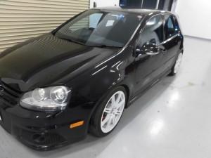 7,19 VW GOLF5 GTI ヘッドライト (1)