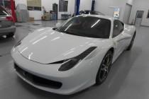 フェラーリ Ferrari 458 イタリア ボディコーティング&X-PEL ペイントプロテクションフィルム施工!!