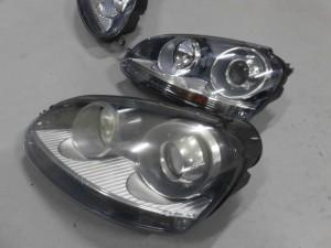 7,19 VW GOLF5 GTI ヘッドライト (5)