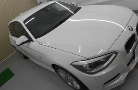 BMW F20 ブレーキパッド&1シリーズ X-PEL ヘッドライトプロテクションフィルム施工