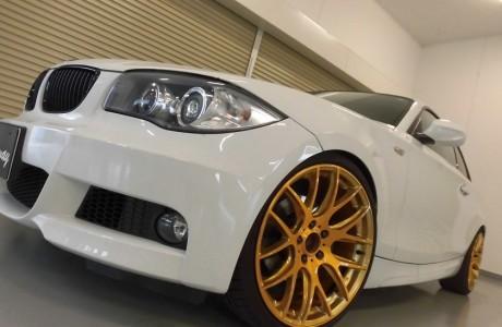 BMW E82 120i クーペ Mスポーツエアロキット&ブレーキパッド&NKB ホイール装着!!