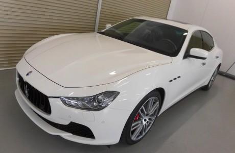 マセラティ ギブリ Maserati Ghibli S Q4 ボディコーティング&X-PEL ペイントプロテクションフィルム施工!!