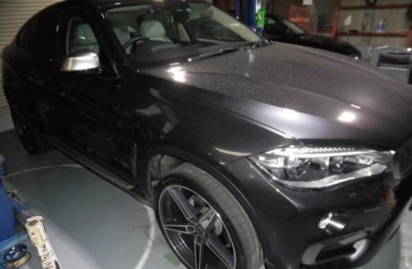 BMW X6 F16 35i ブレーキパッド交換&ペダルセット装着!!