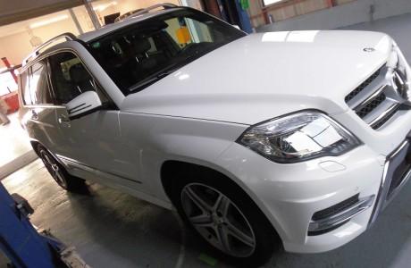 MercedesBenz GLK350 X204 ブレーキパッド交換&レイヤードサウンド装着!!