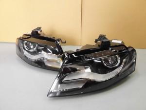 7,1 AUDI A4 B8 ヘッドライト (1)