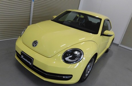 VW THE BEETLE ボディコーティング施工♪