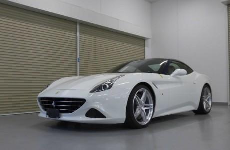 Ferrari フェラーリ カリフォルニアT ボディコーティング施工&HRE P107装着!!