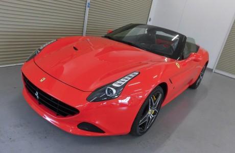 Ferrari カリフォルニアT ボディコーティング施工!!