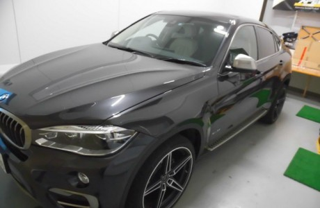 BMW F16 X6 BMWパフォーマンス ブラックキドニーグリル&XPEL ペイントプロテクションフィルム施工&レイヤードサウンド装着!!