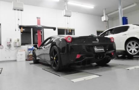 Ferrari フェラーリ 458 イタリア Fi EXHAUST マフラー&JBL スピーカー装着!!