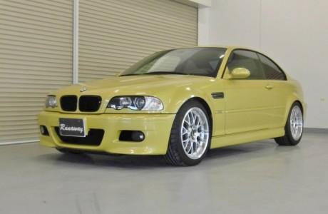 BMW E46 M3 KW Ver3 装着!!