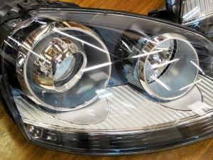 2017 2,10 VW GOLF5 ヘッドライト (4)