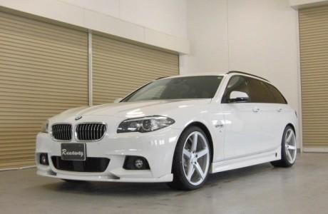 BMW F11 523i ツーリング ハーマン エアロ&VOSSEN CV3-R&低ダストブレーキパッド装着!!