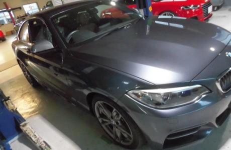 BMW M235i BREX マイクロパウダー ブレーキパッド装着!!