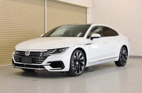 VW アルテオン R-LINE ボディコーティング&低ダストブレーキパッド&ヘッドライトプロテクションフィルム施工!!