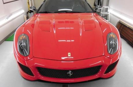 Ferrari フェラーリ 599 GTO XPELペイントプロテクションフィルム施工!!