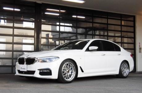 BMW G30 530i Mスポーツ KW Ver3&ディクセルブレーキパッド&レースチップ装着!!