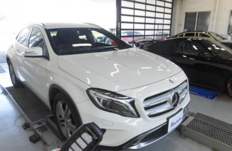 MercedesBenz メルセデスベンツ GLA250 (X156)エンジンスターター取り付け!!