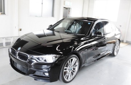 BMW F30 320d ボディコーティング&XPEL ヘッドライトプロテクションフィルム施工!!