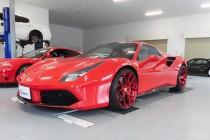 Ferrari フェラーリ 488 gtb BC FORGED  HCS21S 装着!!