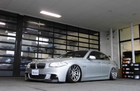 BMW F10 5シリーズ 523i AIRREX エアスキット KABUTO 装着!!