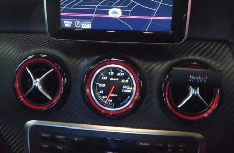 AMG W176 A45 Defi ブーストメーター取り付け!!
