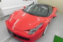 フェラーリ Ferrari 458 イタリア ボディラッピング施工!!