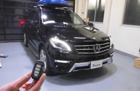 メルセデスベンツ MercedesBenz W166 ML350 ブルーテック エンジンスターターを取り付け!!