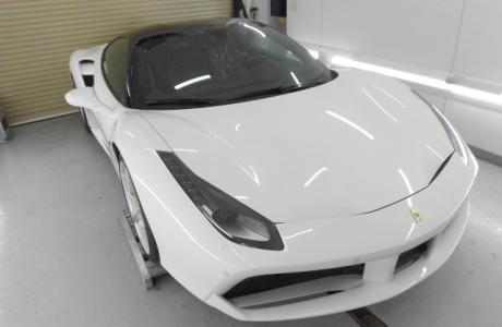 フェラーリ Ferrari 488GTB XPEL ペイントプロテクションフィルム施工!!