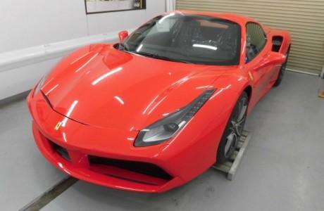 フェラーリ Ferrari 488 GTB XPEL ペイントプロテクションフィルム施工!!
