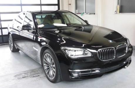 BMW F01 7シリーズ アクティブハイブリッド7 ボディコーティング施工!!