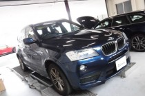 BMW F25 X3 XDrive 20d レムス(REMUS) マフラー取り付け!!