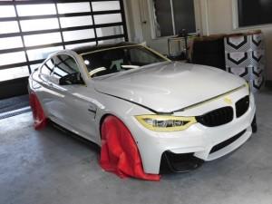 2019 10,11 BMW M4 コーティング (2)