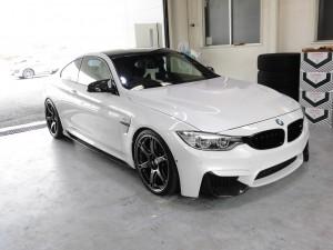2019 10,11 BMW M4 コーティング (9)