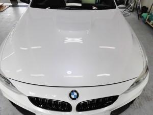2019 10,11 BMW M4 コーティング (3)