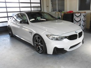 2019 10,11 BMW M4 コーティング (1)