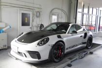 PORSCHE ポルシェ 991.2(911)GT3 RS AKRAPOVIC(アクラポヴィッチ)Slip-On Race Line (Titanium)マフラー装着!!