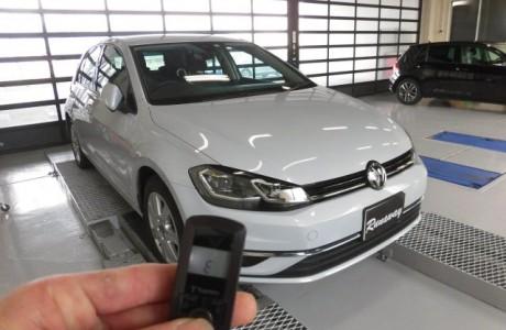 VW GOLF ゴルフ 7.5 TSI エンジンスターター取り付け!!