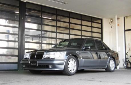 MercedesBenz メルセデスベンツ W124 E500 H&Rダウンサス取り付け!!