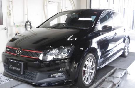 VW POLO ポロ 6R GTI ブレーキパッド&ブレーキローター&New PPT取り付け