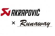 AUDI限定!Akrapovic&Runawayコラボ企画!各1セット限定キャンペーン!